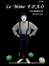 mime F.P.A.O en spectacle